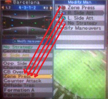 zone press