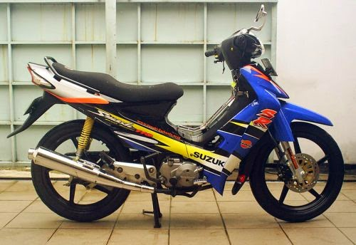 modifikasi motor suzuki smash