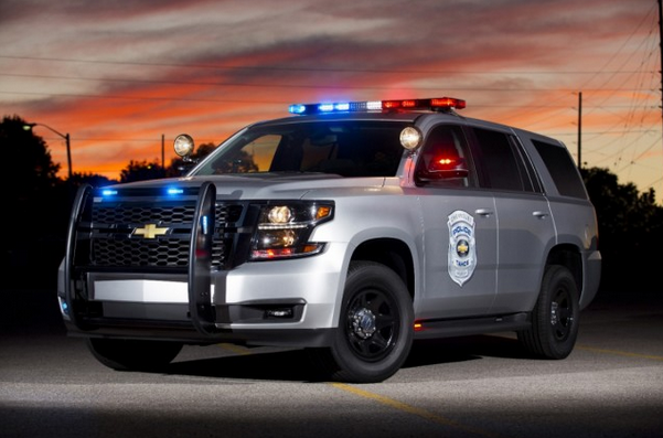 2015 Chevrolet Tahoe Police Patrol Vehicle