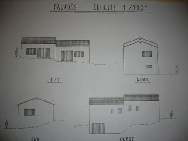 Etapes de construction d 39 une maison traditionnelle en for Dessin fondation maison