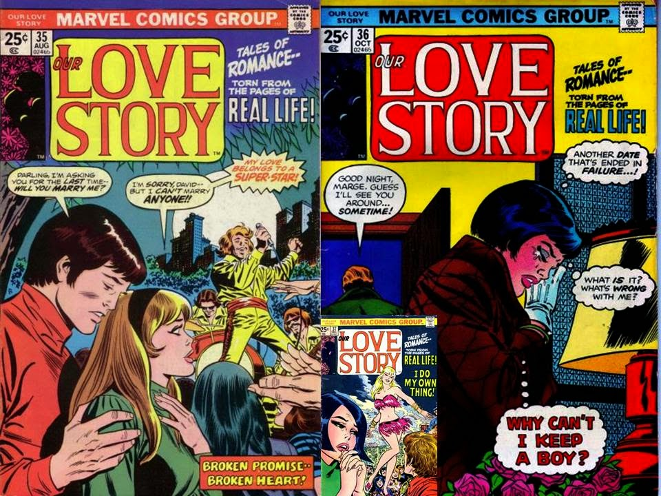 Dave's Comic Heroes Blog: Our Love Story By Spider-Man?