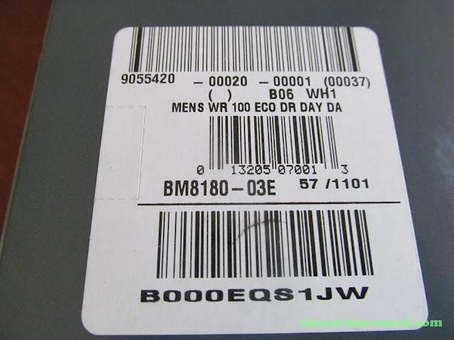 Citizen BM8180-03E Men's Eco-Drive Watch: Box, SKU View