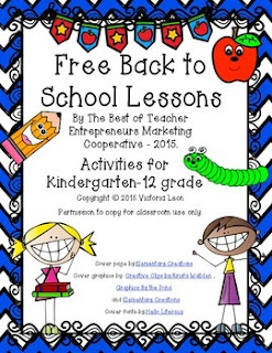 Back to School grades K-12 e-book