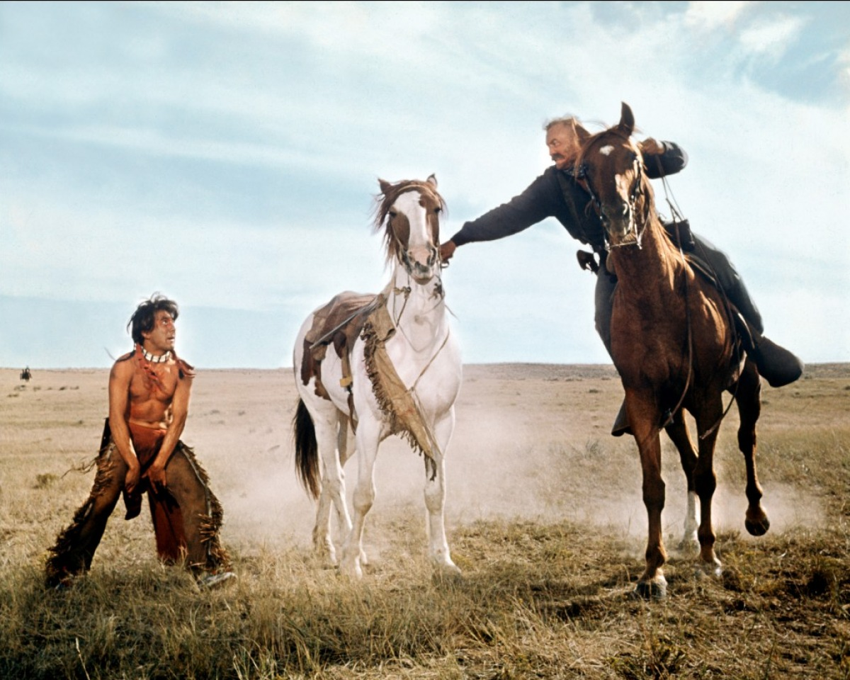 film review little big man An american classic, little big man seeks to rectify western history with this engrossing account of the colorful life of 121-year-old jack crabb full review cole smithey colesmitheycom.