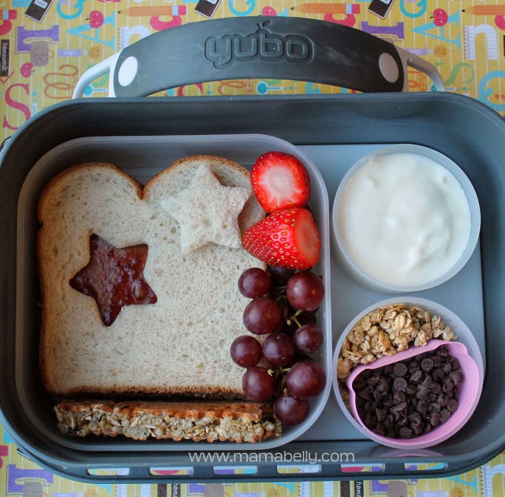 Star school Lunch in a yubo lunchbox - mamabelly.com