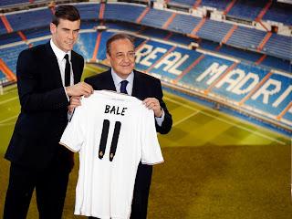 masuk sebagai pemain Madrid Gareth Bale
