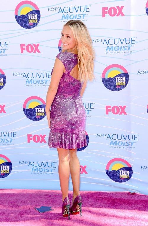Hayden Panettiere Pretties Up the 2012 Teen Choice Awards » Gossip | Hayden Panettiere