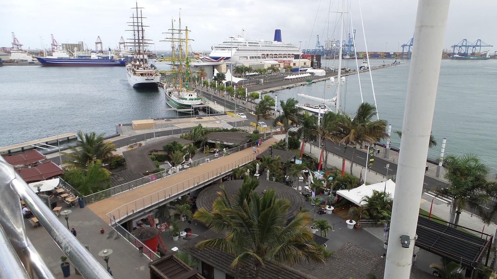 Gran canaria reise info einkaufszentrum c c el muelle in for Oficina fred olsen santa catalina