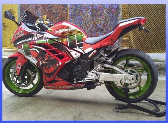 Koleksi Terkait : Foto Modifikasi Ninja 250R FI ABS Sporty 2014 title=