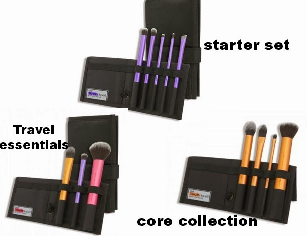 Kit Core Collection de Real Techniques