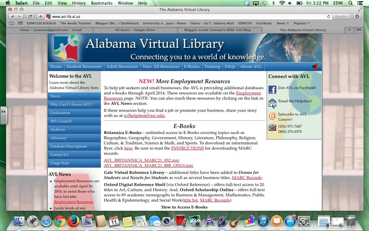 Alabama library homework help