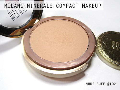 Milani Minerals Compact Makeup