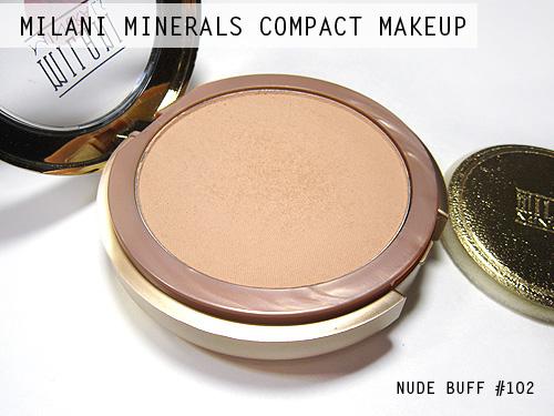 Milani Minerals Compact Makeup