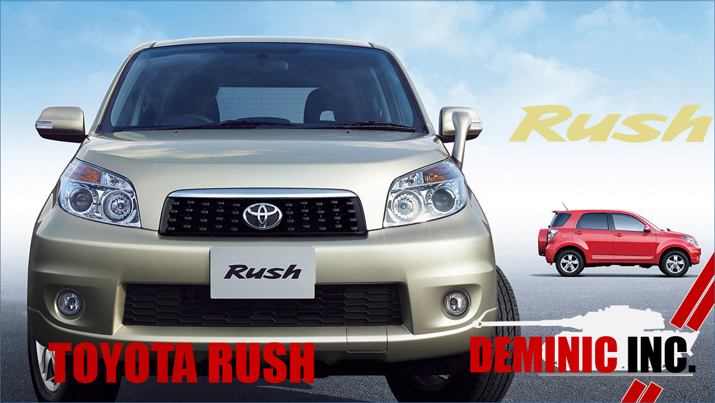 Toyota rush for sales in singapore