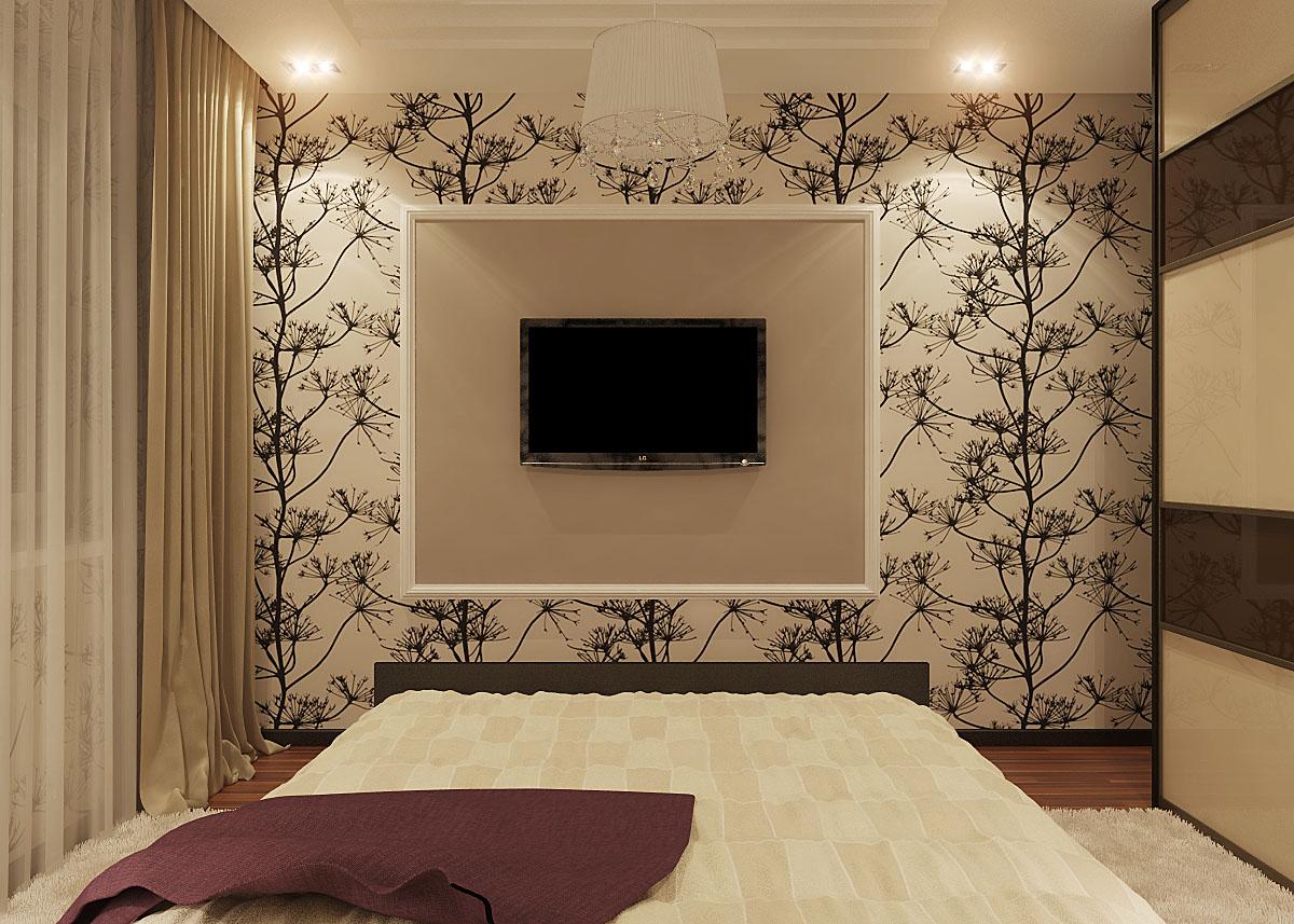Дизайн спальни 2 на 4 метра
