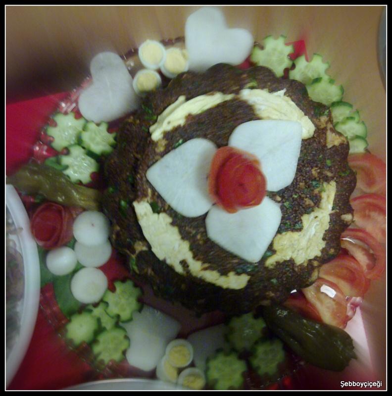 kalp kalbe karşı bulgur salatası
