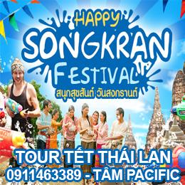 tour du lịch Tết Thái Lan Songkran