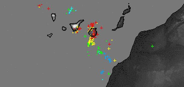 200 rayos sobre canarias 8 agosto