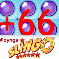 zynga slingo+66+Extra+Spin+Balls
