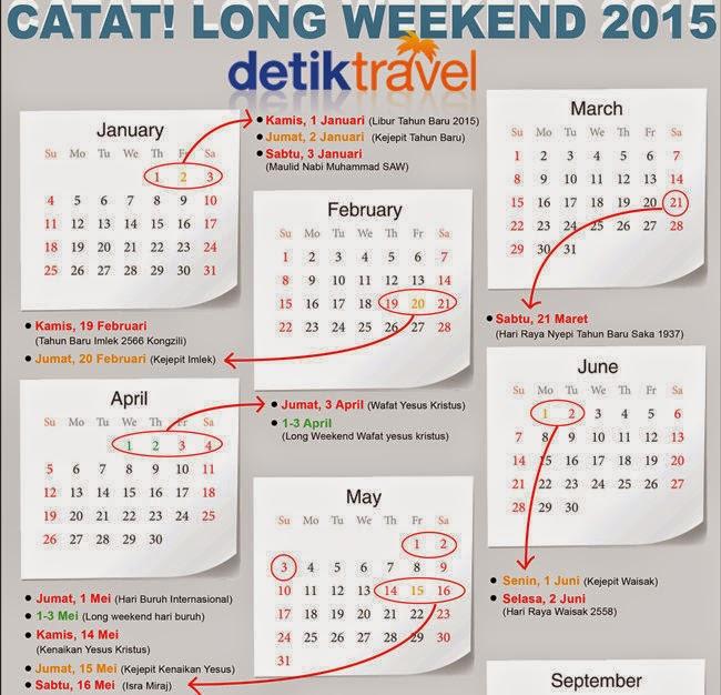 kalender indonesia tahun 2015 dan Jadwal tanggal hari liburya | Akuntt ...