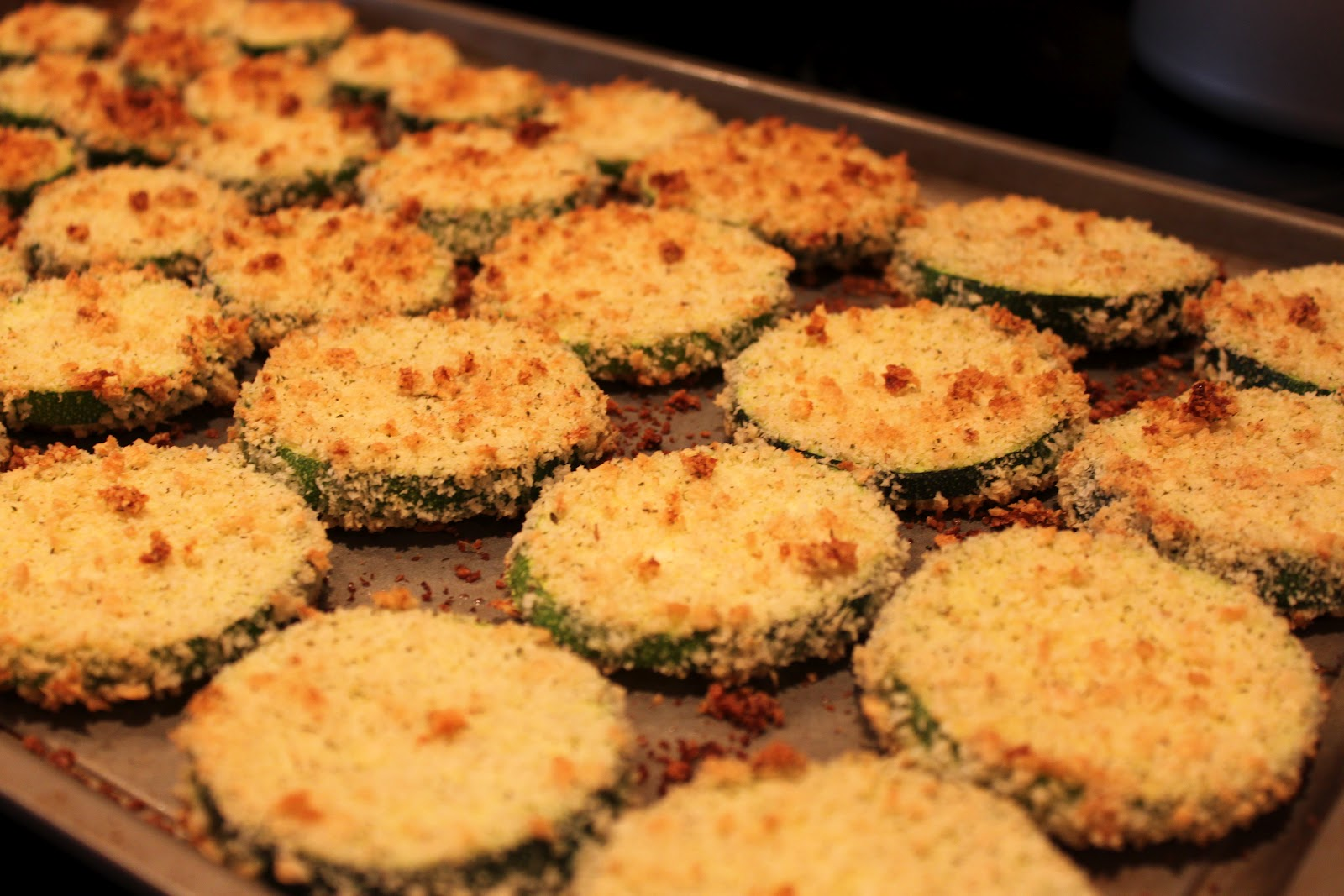 Cookin' It My Way: Baked Zucchini Chips
