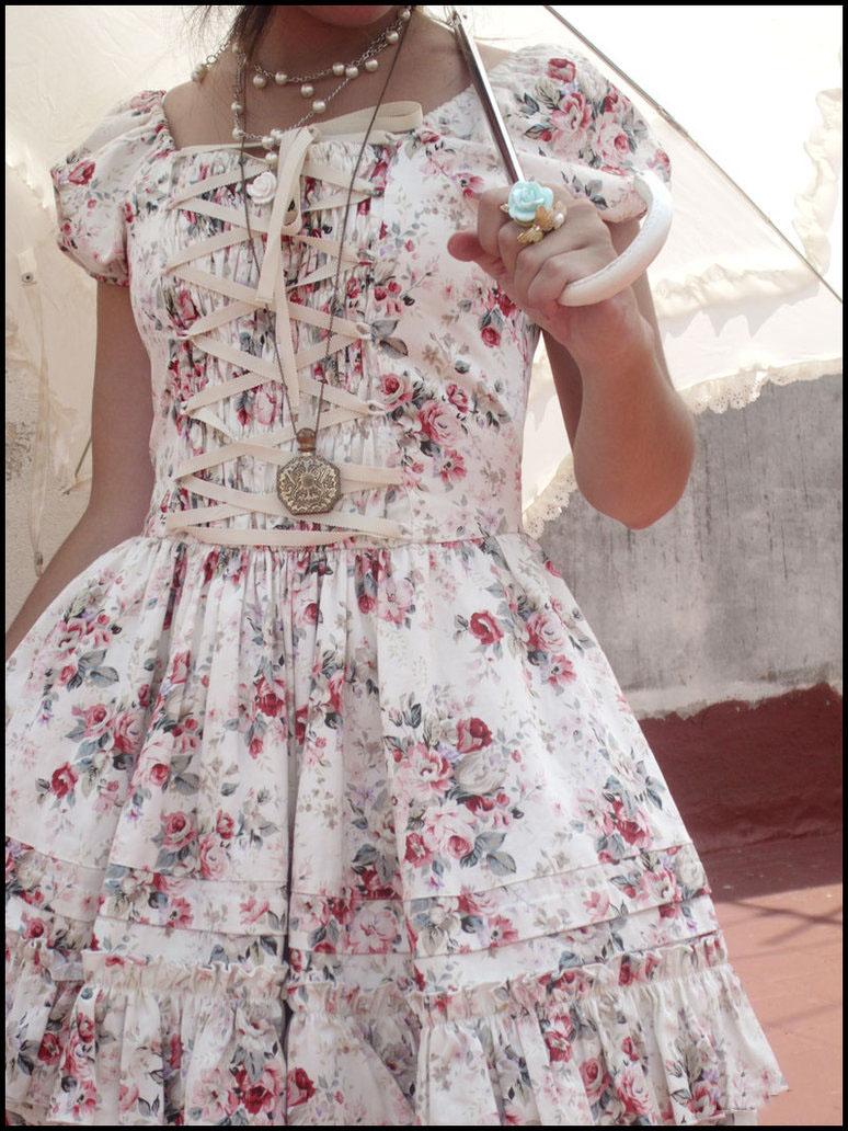 cute rococo lolita dress