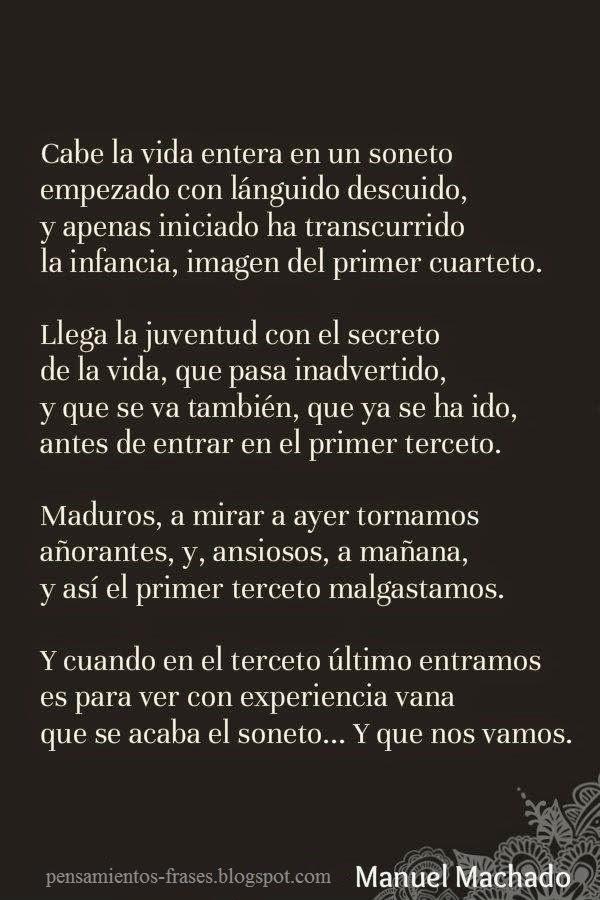 poesía de Manuel Machado