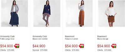 Looks de moda 2015 Falabella