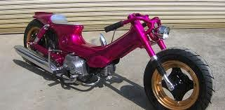 Kumpulan Modifikasi Terbaru Sepeda Motor Jadul Antik dan Unik