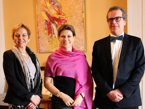 Princess Martha Louise of Norway visited the Department of Health and Care Services in Oslo