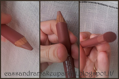Lord & Berry_Flat Lip Pencil_swatch - inci - prezzo - glossy box ottobre