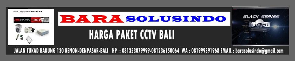 HARGA PAKET CCTV BALI