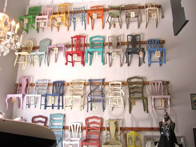 sillas pintadas con chalk paint