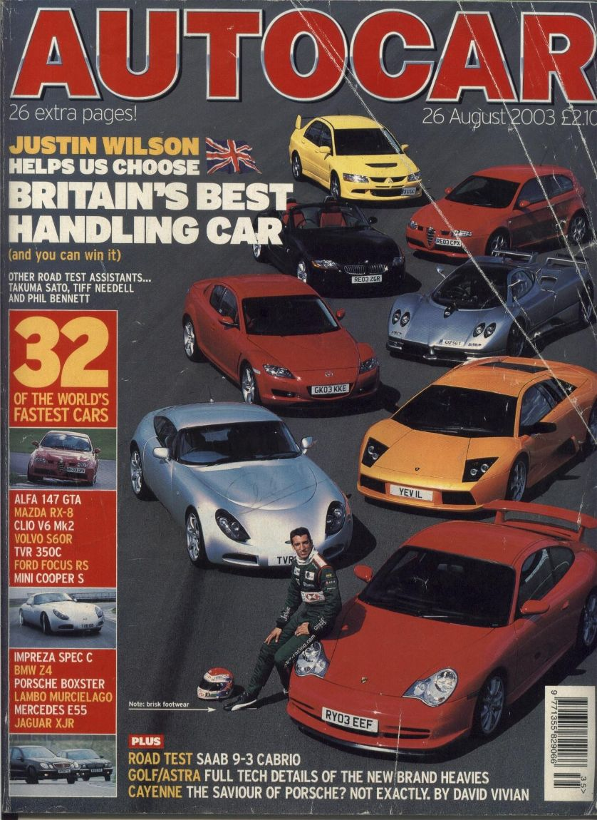 Auto Car Magazine - Desing Car Fuul Time