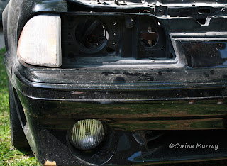 1987 Mustang 5.0 with Signal Light & Headlight Removed