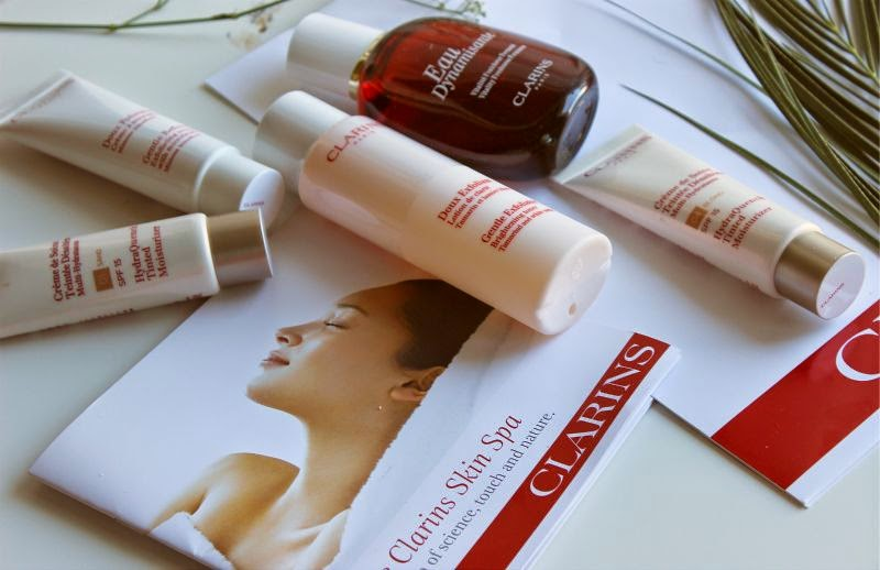 Clarins Skin Spa House of Fraser Glasgow