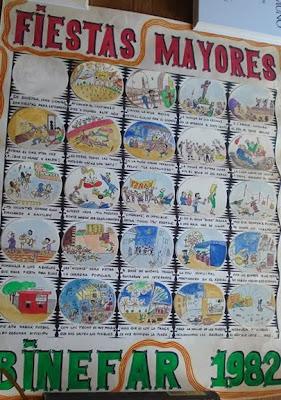 Otros carteles y afiches de Fiestas de Binéfar (III)