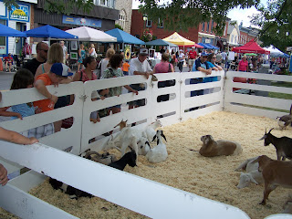 Petting Zoo at bridge Street Bazar