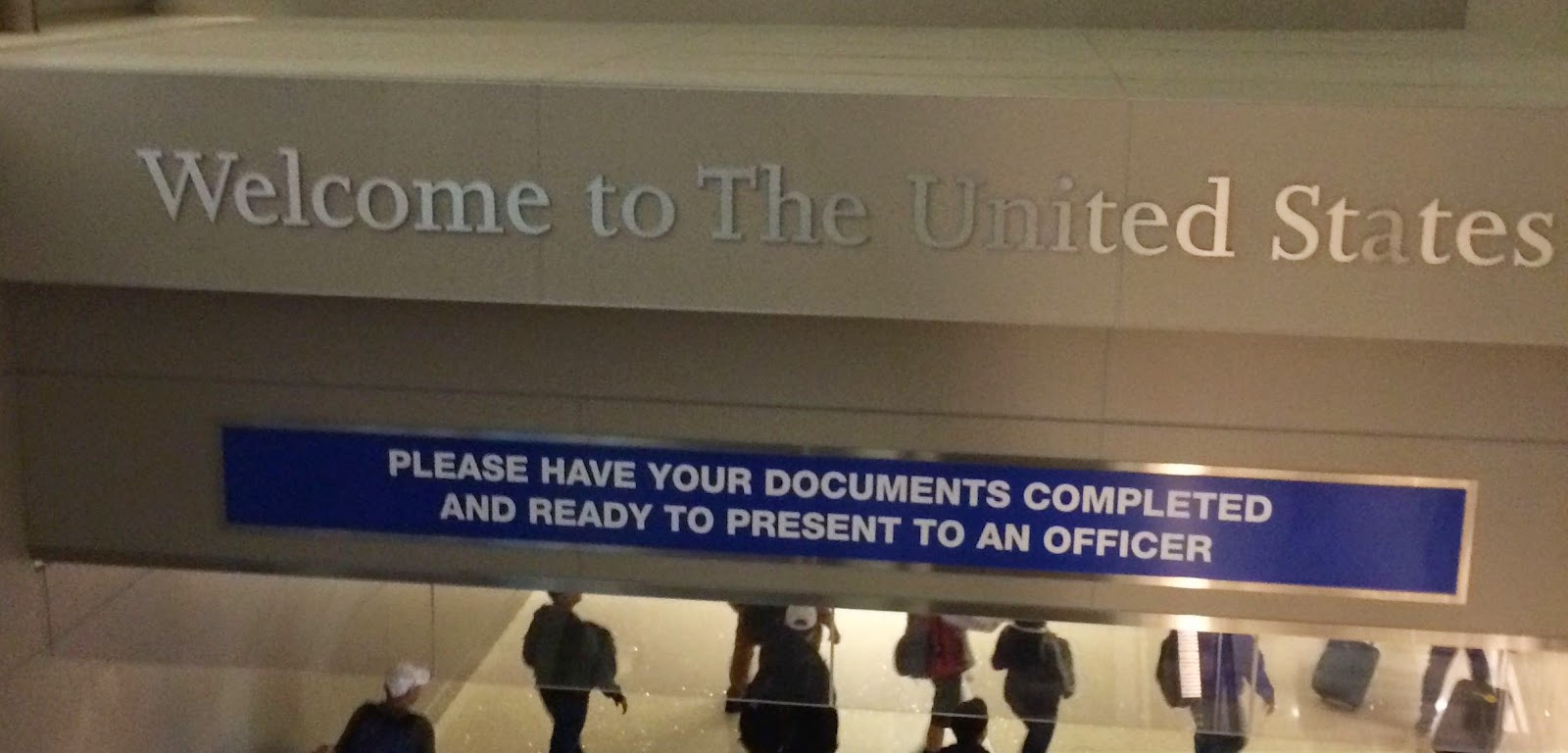 LA Airport   How Completing our Visa Application on our Own Paid Off