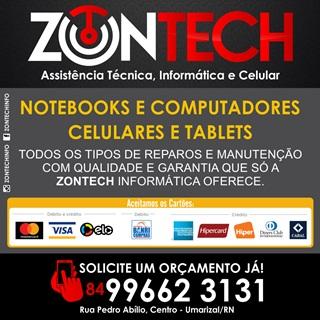 ZONTECH - Assistência Técnica, Informática e Celular