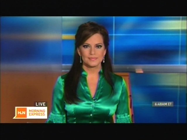 Download image Robin Meade Green Satin Blouse PC, Android, iPhone and ...