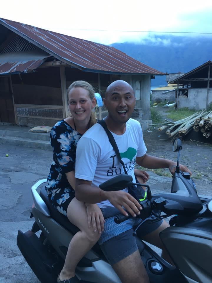 Bali Guide At Mt Batur