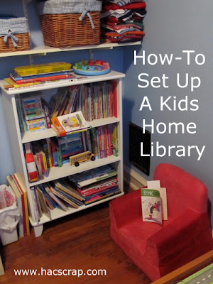 How To Set Up A Home Library For Your Kids