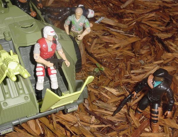 1994 Lifeline, Monster Blaster APC, 1993, Headhunter, Chuckles