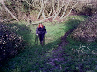 Geocaching - Avoiding the mud!