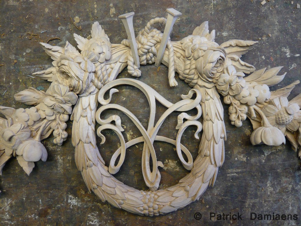 Patrick damiaens woodcarving grinling gibbons high
