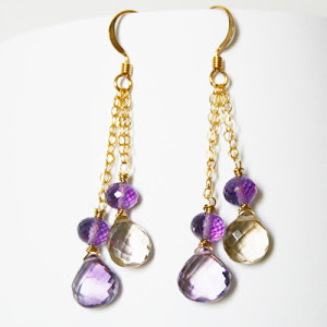 Wild lavender and a twist of lemon-perfect match-ametrine
