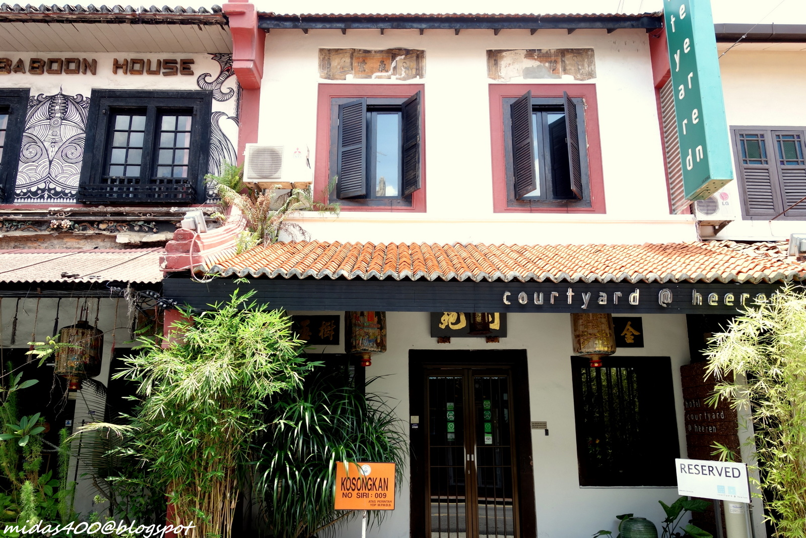 Midas Food N Travel Blog Melaka Getaway Courtyard