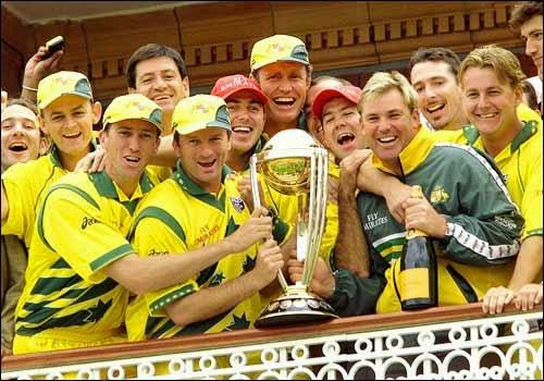 Australia 1999 World Cup Champion