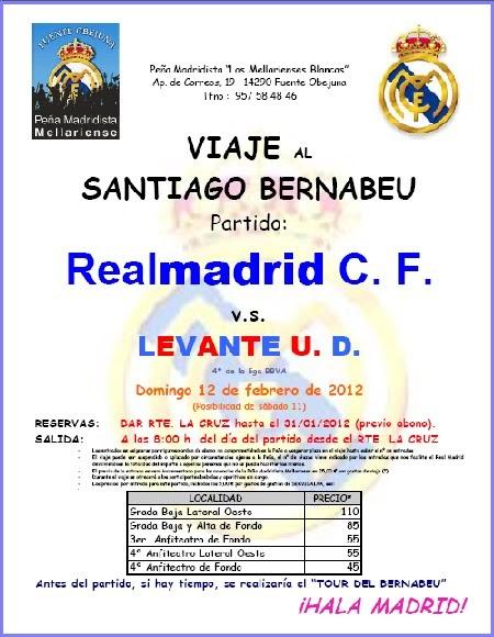 Un pueblo de leyenda viaje al santiago bernabeu de la pe a madridista los mellarienses blancos - Viveros pena madrid ...